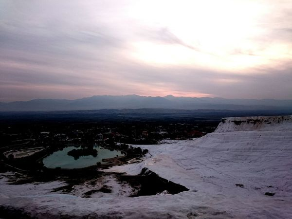 Hi! Hello World Pamukkale Travertenleri Sunset Nicepic Taking Photos Happyday Relaxing 😄😄😄