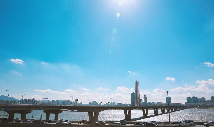 Photographer Photo Korea,seoul Photography Korea Seoul Hangang Hangang River Hangang Park Yeouido Yeouido Hangang Park Sky Sky And Clouds