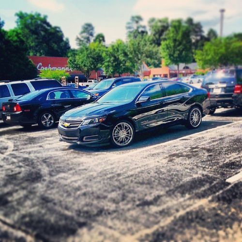 Why you got to park next to me...and plus you back in... Impala14