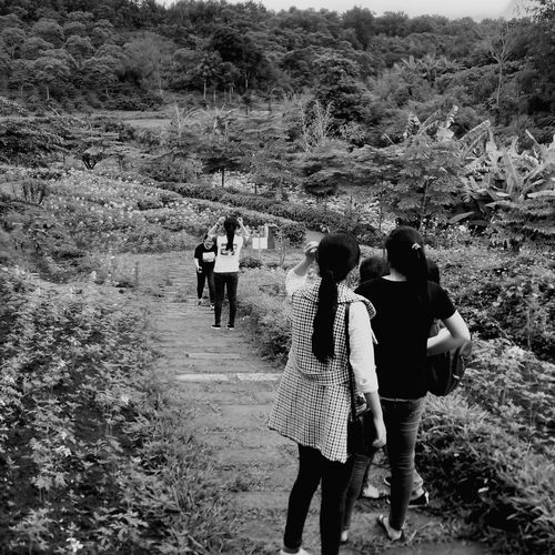 Shades Of Grey Up To The Hill Upon The Kotam Hill Friends Waiting The Rise Of Nature Landscapes With WhiteWall Black And White Photography Everyday Moments