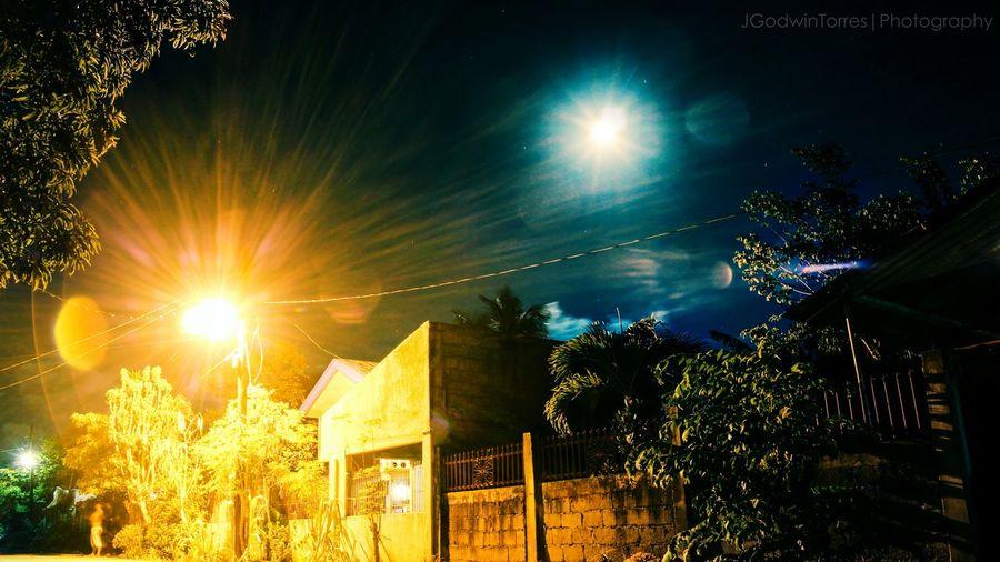 Moon Jgodwintorresphotography Jgodwintorres Night Sky Nightphotography Street Lights