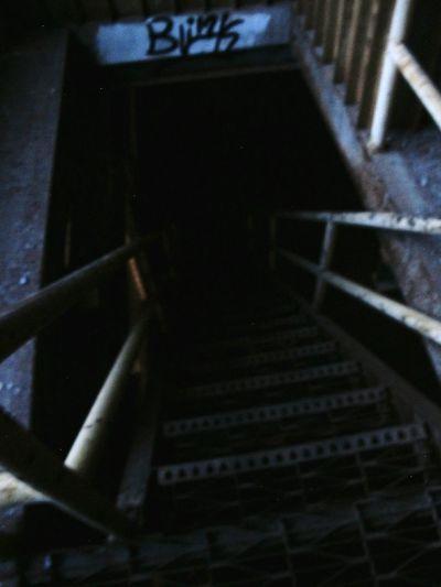 Stairways urban, Urban Exploration Txus Abandoned
