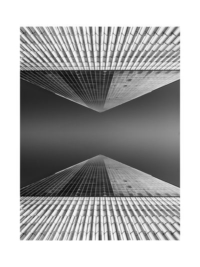 Architecture Framed Lines Minimalist Architecture New York City The Week on EyeEm White Frame Architecture Black And White Blackandwhite Building Exterior Built Structure Clear Sky Day Modern No People Outdoors Sky Skyscraper Symmetry