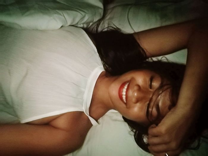 Mornight from here.. 😴 Lying Down Bedroom Need To Sleep Relaxing ♥ Smile❤ Selfie ♥