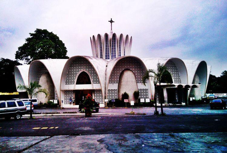 Crown-shaped San Lorenzo Ruiz shrine, an Architecture landmark at Bacolod city. Eyeem Philippines Hdr_Collection