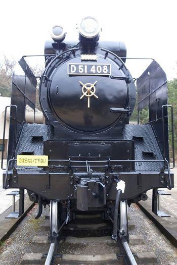 Steam Locomotive D51 Cool 蒸気機関車 Ricoh GRD III 改めて見ると、凄く綺麗な形だなぁ