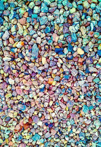 Full frame shot of multi colored pebbles