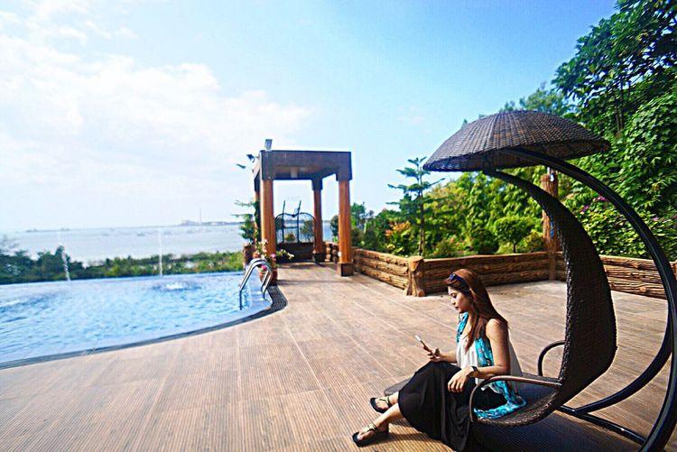 Dare to do anything. 🙂 Solotraveler Sony α♡Love Travel Enjoying Life