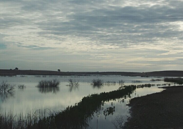 Guadiana river River View Hello World Nature Photography Darkness And Light Shadow Grey Sky Water Landscape Traveling Mobilehome Open Edit Beautiful Nature Writing With Light