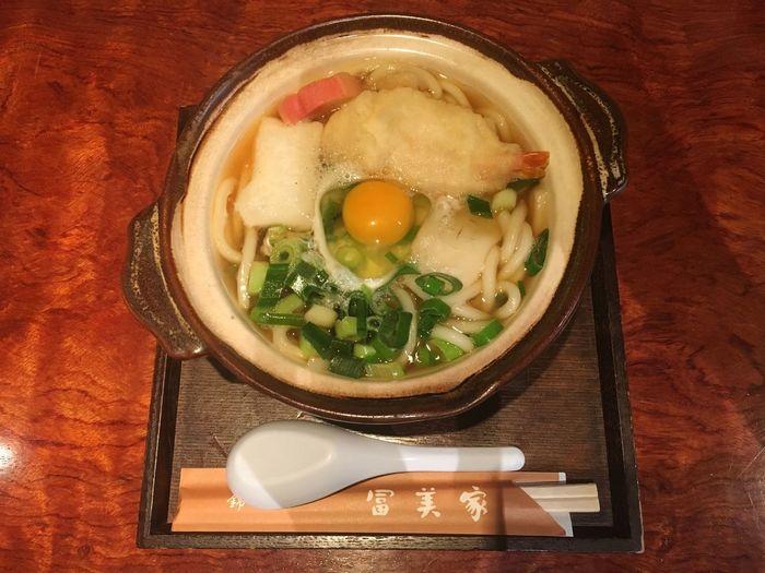 錦市場行ったら、冨美家さん。 冨美家 うどん Udon Noodles 京都 Kyoto Japan