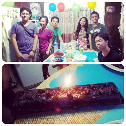 surprise birthday celeb for mama ft F.B.I :) Happymama :)