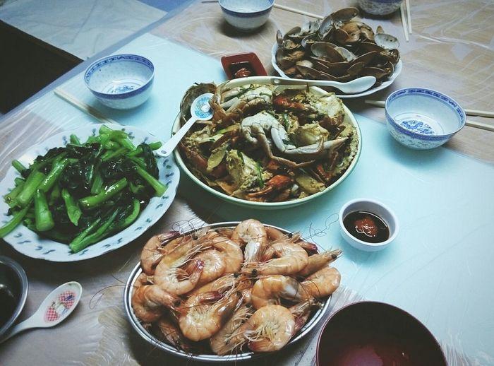 yummy yummy~😄Food Porn Awards Guangzhou,China Dinner Time Seefood