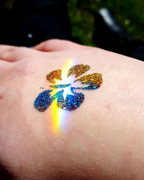 glitter tattoo kissed by a mini rainbow Queer Queer Women Gay Lesbian Cute Flower Contrast Kids Glitter Tattoos Kid Tattoo Childish Childhood Illusion Rainbow Gold Gold Glitter Flower Head Human Hand Glitter Multi Colored Blue Fashion Close-up Body Adornment Glittering Tattooing Tattoo Carving - Craft Activity This Is Queer Inner Power Summer Exploratorium Visual Creativity Adventures In The City Going Remote Focus On The Story This Is My Skin The Street Photographer - 2018 EyeEm Awards The Fashion Photographer - 2018 EyeEm Awards The Creative - 2018 EyeEm Awards Love Is Love