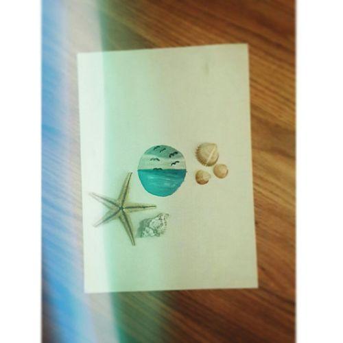 Sea Seafish Drawing ✏ Watercolor ???