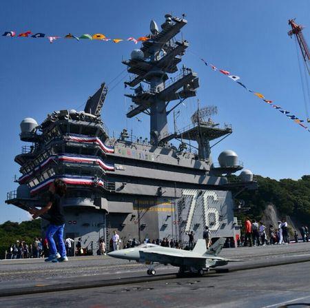 USS Ronald Reagan Ship Opening 2015