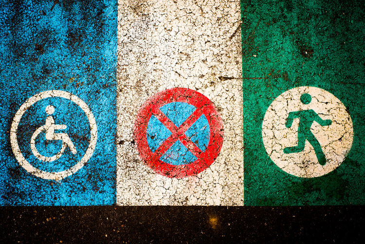 Bans Communication Confusion Don't Multi Colored No People Road Rules Are Made To Be Broken Rules Broken Rules Of The Road Rules Were Meant To Be Broken Signs SignSignEverywhereASign Street Street Rules What The F**k, Is This ? What To Do?