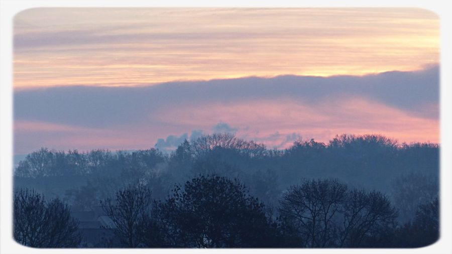 Sweet morning ⛅️ Hello World Taking Photos Misty Morning Naturelovers Clouds And Sky