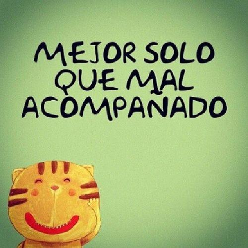 Frasesinstagram Frasesespa ñol Solo Happy cat
