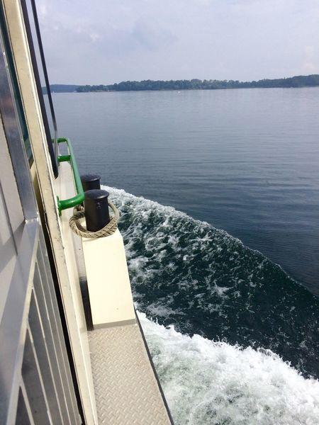 Ship Lake Enjoying Life