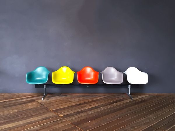 Which Color do you Choose? Colorful Chairs Vitra Weroamgermany Weilamrhein Wall EyeEm Best Shots Eyem Gallery Latergram OpenEdit