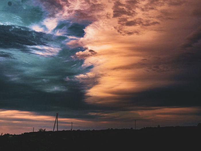 The nordic sky