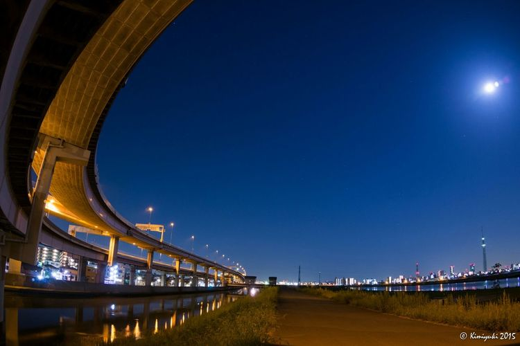 Long way ExpressHighway 首都高 Sky Streetphotography Street Olympus Night View Nightview Skytree Tokyoskytree