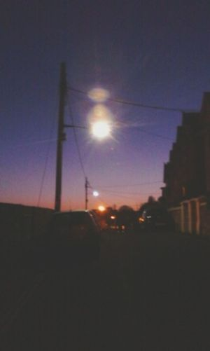 Spring Evening Tranquility Urban Blue Sky Boredom... Outdoors
