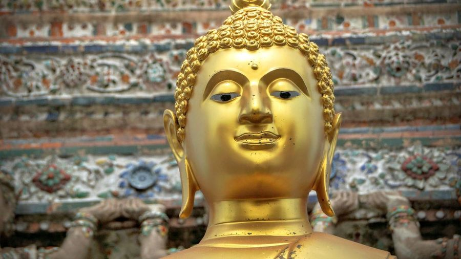 Human Representation Statue Religion Spirituality Sculpture Art And Craft Art Focus On Foreground Buddha Close-up Gold Colored Creativity Travel Destinations Place Of Worship Idol Golden Color Golden Day Tourism Gilded
