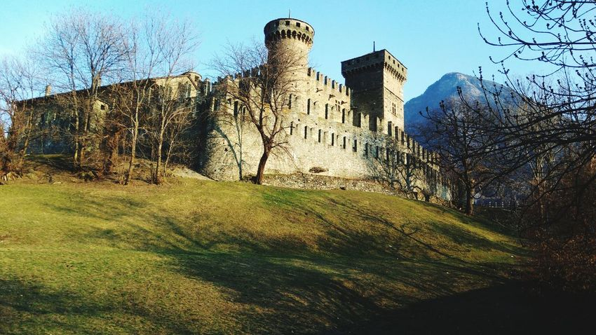 Valle d'Aosta Castle Aosta Skyscraper Grass EyeEmNewHere
