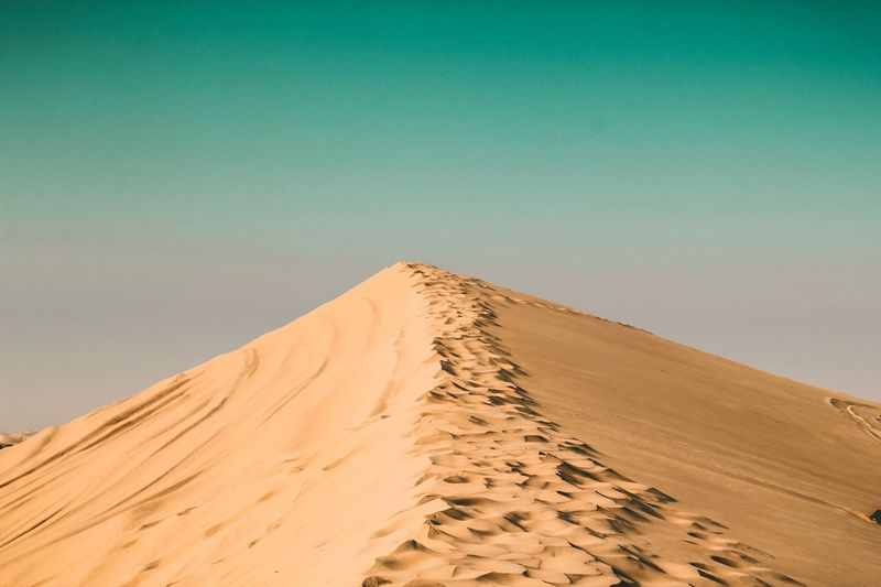 Dust Abudhabi Dubai Sahara Desert Landscape Desert Sand Desert Sand Dune Land Landscape Environment Scenics - Nature Climate Sky Nature Travel Tranquility Beauty In Nature Tranquil Scene Travel Destinations Outdoors Extreme Terrain
