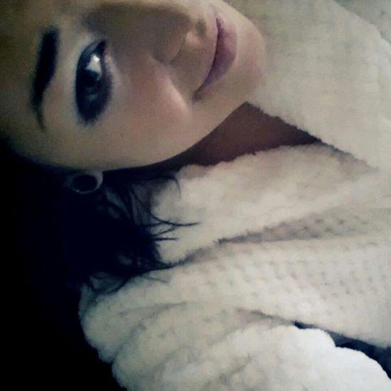 my new love is this bathrobe ♥ Relaxing Enjoying Life Smokey Eyes 16mm