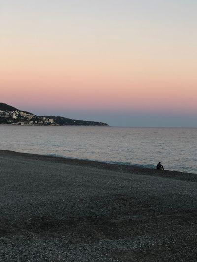 Sky Water Sea Beach Sunset Scenics - Nature Beauty In Nature