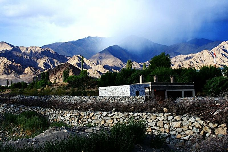 Dry Weather Beauty In Nature Feel The Journey Travel Photography Nature Photography Nature_collection Original Experiences Rocky Mountains Trees And Mountains Incredible India Ladakh_lovers Jammu And Kashmir June 2016 Mountains In Background Sunlight And Shadow Ladakh Mountainscape Landscape_Collection