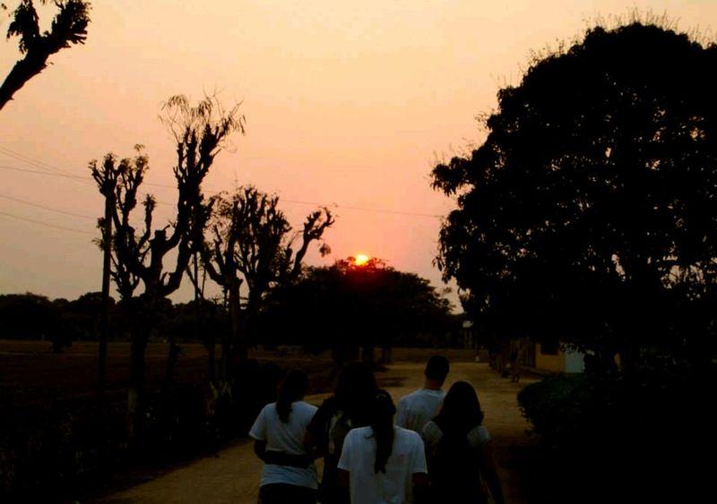 Benguela Angola Sunset