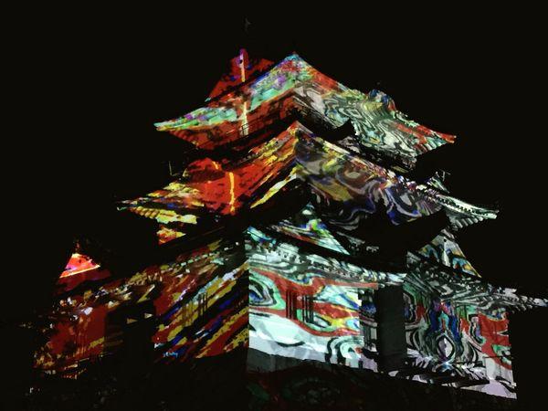 Castle Japanese Culture Odawara Castle / Japan Projection Mapping Japan Art