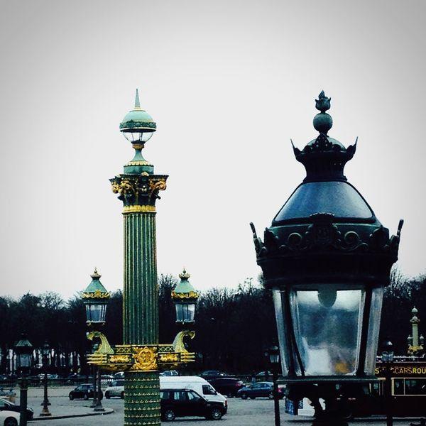 Paris ❤ Placedelaconcorde Lampadaire Dorures