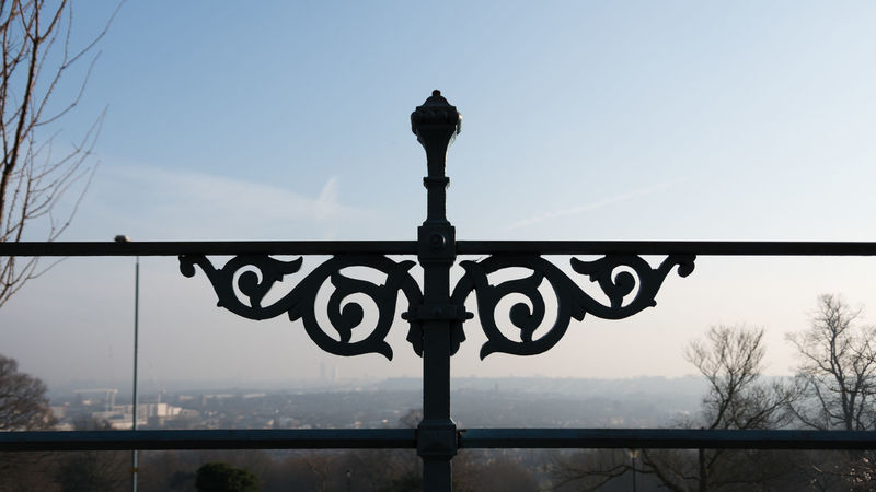Abstract Alexandra Palace Day London No People Outdoors Railing Silhouette Sky Symmetry