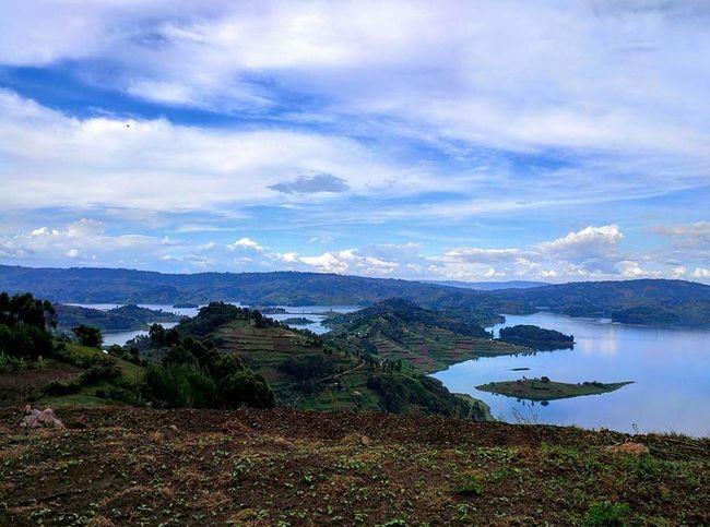 Lake Bunyoni Africa Travel Traveling The World Travel Photography Landscape Lake Hiking Uganda