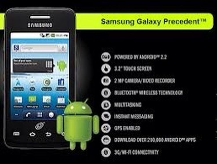 Future phone. Samsung Galaxy Precedent