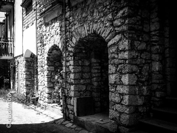 #urbanana: The Urban Playground Ancient City Cobblestone Streets Footpath Street View View Arch Black And White Building Built Structure Cobblestone Day History Old Old Buildings Old City Outdoors Perpective Stone Stone Material Street The Way Forward Town Urban