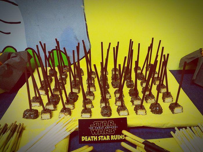 Yummyyy Chocolate♡ Star Wars Birthday Snacks First Eyeem Photo