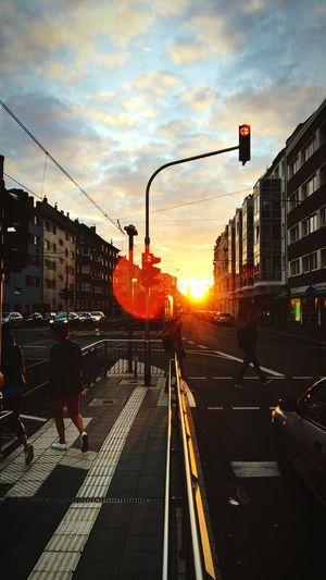 Sunset Sun Lens Flare