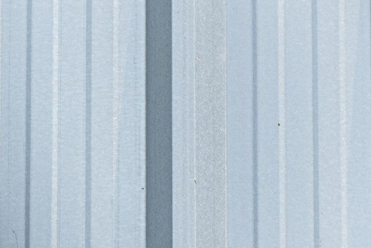 Light Blue Aluminium Background Aluminium Abstract Backgrounds Close-up Corrugated Corrugated Iron Day Full Frame Gray Iron Iron - Metal Metal No People Outdoors Parallel Pattern Protection Safety Security Sheet Metal Silver Colored Textured  Wall - Building Feature White Color Wood - Material