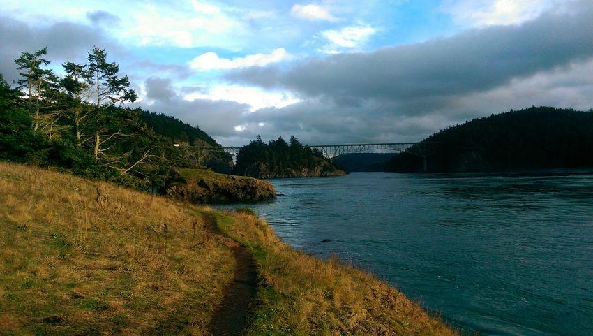 Deception Pass Puget Sound