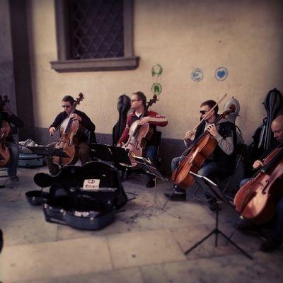 Instapadova Pórtico Palazzo del BO violoncello music