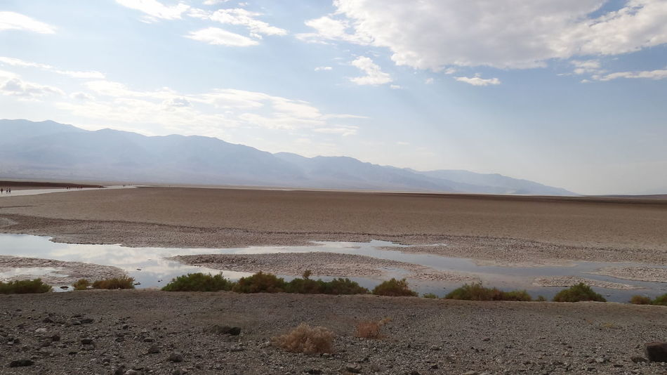 Animal Themes Beauty In Nature California Day Death Valley National Park Desert Landscape Mammal Mountain Mountain Range Nature No People Outdoors Salt - Mineral Salt Basin Salt Flat Scenics Sky Tranquil Scene Tranquility Water