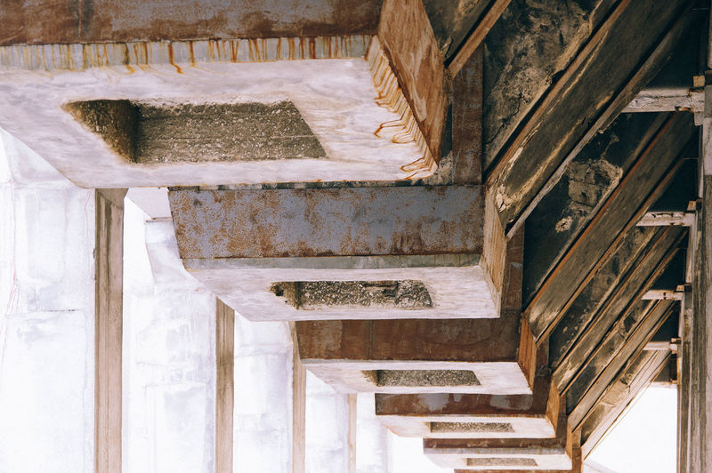 Abandoned Architecture Building Building Exterior Built Structure Day House Indoors  Low Angle View No People Old Pattern Railing Staircase Steps Steps And Staircases Weathered Wood Wood - Material Wooden