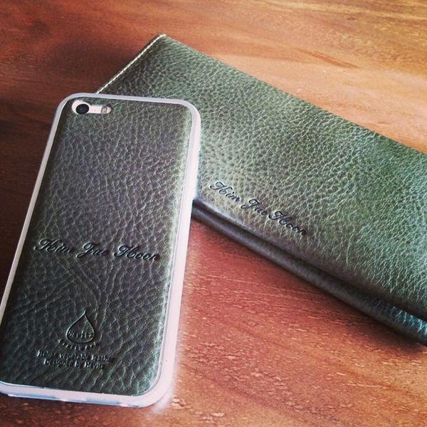 Hevitz Smartphone Leather Skin for iPhone5/5s Minerva Box
