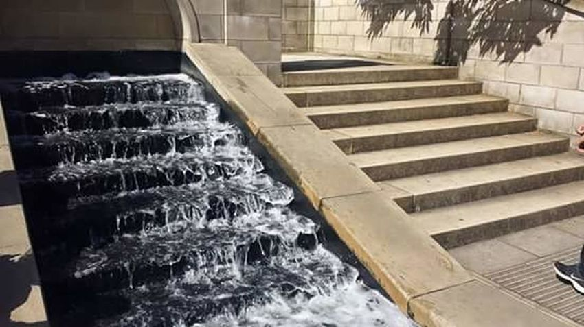 Steps Waterfeature