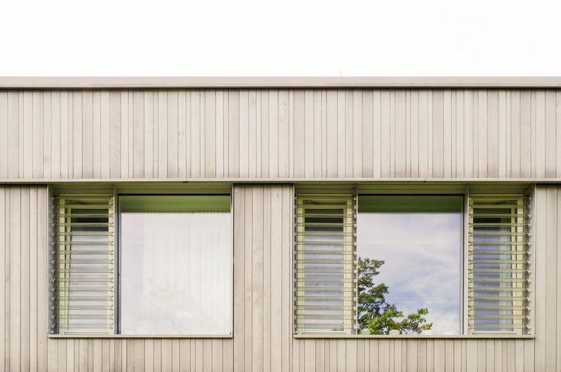 Exterior of building against sky